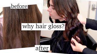 Why You Need Hair Gloss!
