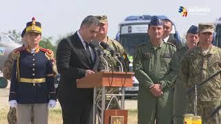 Leş, la ceremonia de repatriere a românilor ucişi în Afganistan: România rămâne neclintită în combaterea terorismului