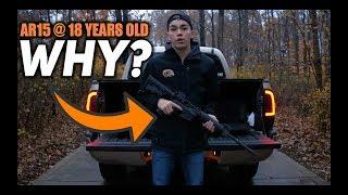 Why Do I Own an AR-15 Rifle at Age 18?   ZACH