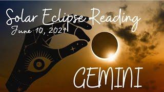 GEMINI ♊ Resisting the shift into the unknown   Solar Eclipse Reading, June 10, 2021