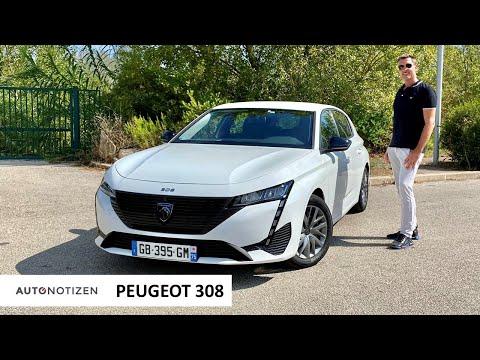 Peugeot 308 Active Pack (110 PS): Was kann die Basis? Test   Review   Cockpit   2021