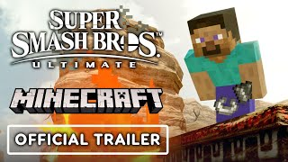 Super Smash Bros. Ultimate - Minecraft Reveal Trailer
