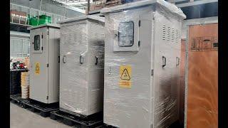 Lô 5 Tủ Điện Hạ Thế Solar ACB 1600A 3P 380/220V Mitsubishi, LS