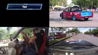 preview picture of video 'Yam Gymkhana X @Songkhla 8-9 November 2014'