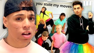 THIS JUST HAPPENED… BEST FRIEND DANCE BATTLE | Work It Out w/ Larray and Twaimz EP 1