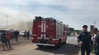 Пожар в ТЦ «Порт» Казань