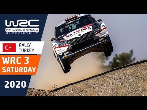 WRC3 ラリー・ターキー(トルコ)。土曜日のラリーの中から気になるシーンを集めたダイジェスト動画