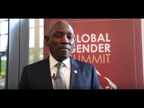 Regional Director of UNFPA M. Mabingue Ngom attend the Global Gender Summit 2019
