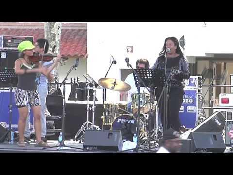 MICHELLE COLTRANE & SHEA WELSH @ THE PANAMA JAZZ FESTIVAL 2013...