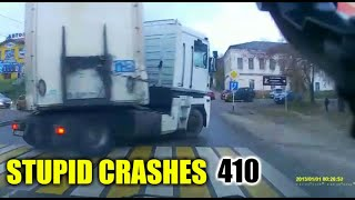 Stupid driving mistakes 410 (October 2019 English subtitles)