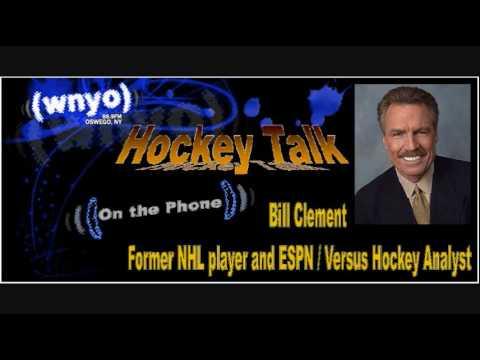 Hockey Talk - Bill Clement Interview Part 1