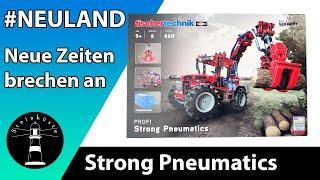 FISCHERTECHNIK - Erster Eindruck + Erstes Modell + Fliesencheck - Profi Strong Pneumatics - 559876