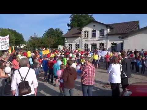 Demonstration in Süderfahrenstedt am 04. Juni 2014