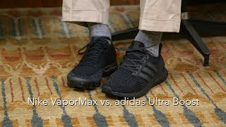 adidas Ultra Boost vs. Nike VaporMax