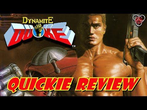 Dynamite Duke (Sega Mega Drive / Genesis)   Quickie Review   Nefarious Wes