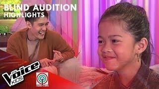 Rockcille, ikinuwento ang kanyang paghanga kay Coach Bamboo | The Voice Kids Philippines 2019