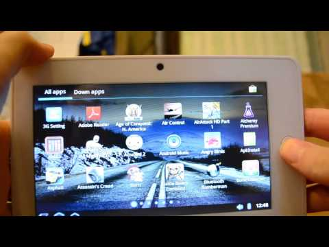 Haipad M7S 7'' Review ( Android 3.0 Tablet, I own it for like a year)