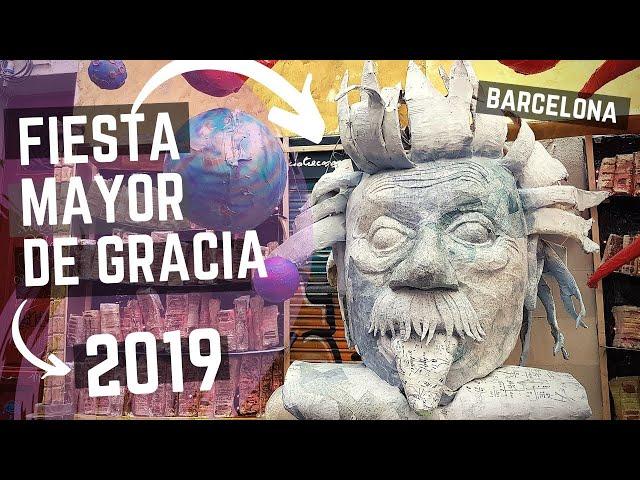 Fiestas de Gracia 2019, Barcelona
