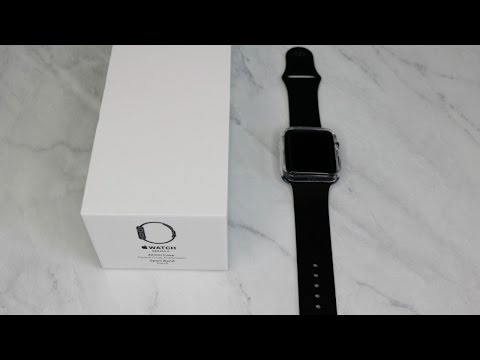 Apple Watch Series 2 Unboxing 42mm   April 2017