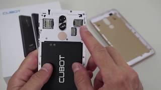 Review CUBOT R9 - Billig Smartphone