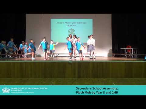 Secondary School Flash Mob by Year 8 and 2HB