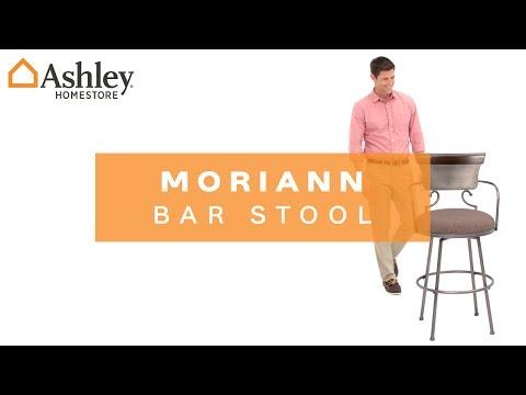 Moriann Pub Height Bar Stool Ashley Furniture Homestore