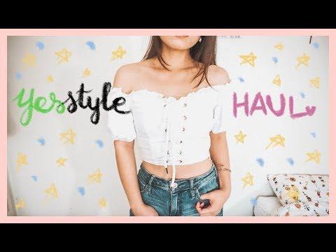 🌻MỘT CHIẾC HAUL NHO NHỎ QUẦN ÁO TỪ YESSTYLE 🌸 A Yesstyle Haul 👗 Diane Le