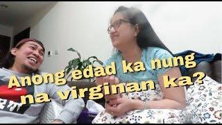 ANG TANONG | ANONG AGE KA NUNG NA VIRGINAN KA | TOUGH 5 QUESTION