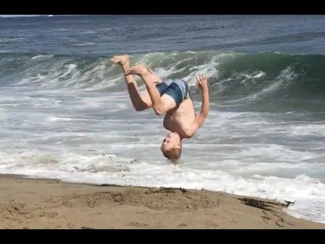 Master Ballers BEACH FAILS!!