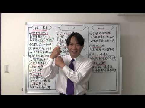 竹内の日本史 戦略図解ボード #043 大御所時代と天保の改革