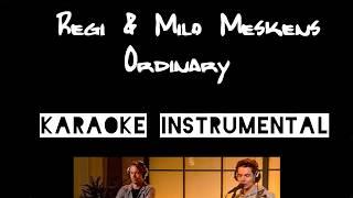 Regi & Milo Meskens   Ordinary    Instrumental Met Tekst