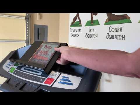 11″ x 11″ Full-Size Treadmill Book Holder