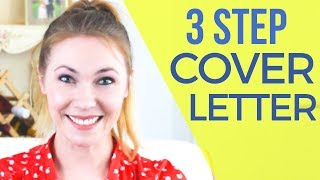 3 Step EASY Cover Letter - Recruiter Reveals BEST Way To Stand Out