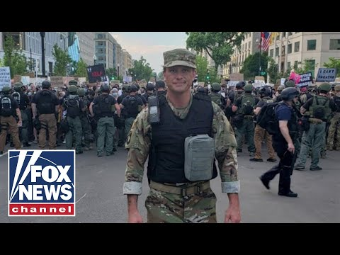 Pete Hegseth deploys with DC National Guard amid protests