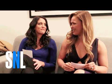 Two-Way Q&A: Ronda Rousey and Cecily Strong