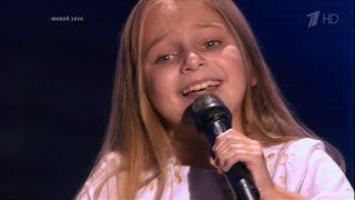 The Voice Kids RU 2014 Victoria — «Однажды в декабре» Blind Audition | Голос Дети. В.Соломахина. СП