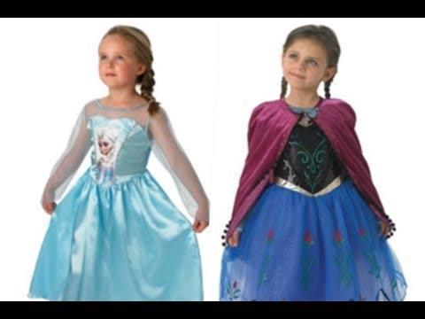 Disfraces de Elsa y Ana de frozen