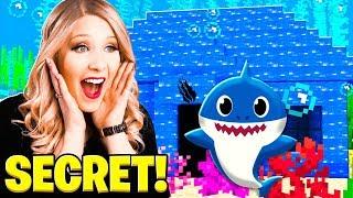 I Found Baby Shark's SECRET Underwater Minecraft House!