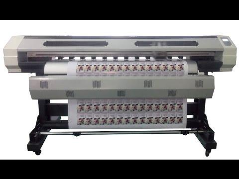 YH-1800G sticker print and cut eco solvent printer impresora eco solvente