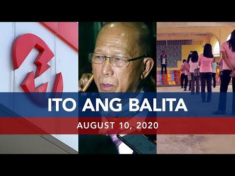 [UNTV]  UNTV: Ito Ang Balita   August 10, 2020