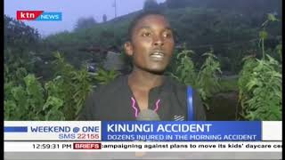 Over 60 passengers escape death in an accident