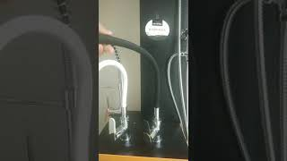 Змішувач для кухні з гнучким виливом, Invena Samba, білий від компанії Vemar - все для дому - відео