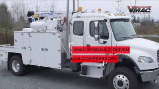 VMAC Hydraulic Driven Air Compressor
