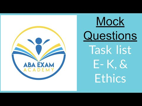 More BCBA mock exam questions to pass the first time - YouTube
