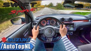 SUZUKI SWIFT SPORT 2019 1.4 Turbo POV Test Drive By AutoTopNL