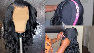 SUPER DETAILED FRONTAL WIG TUTORIAL | How to make a frontal wig