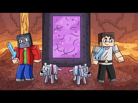 KJŮTÝ OŽIL A PEKLO! (Minecraft Dinosauři #9)