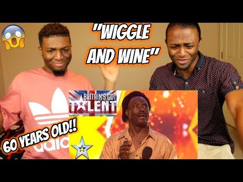 Donchez bags a GOLDEN BUZZER with his Wiggle and Wine! | Auditions | BGT 2018 (REACTION) (видео)