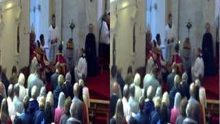 preview picture of video 'Pontifical High Mass At St Winefrede's Church In Holywell in 3D'