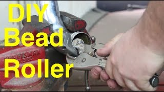 DIY bead roller Intercooler pipe bead roller